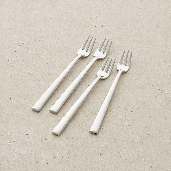 Set of 4 Mix Appetizer Forks