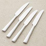 Set of 4 Mix Dinner Knives