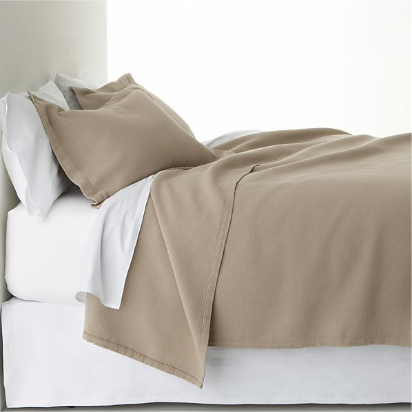 Mocha Full/Queen Coverlet