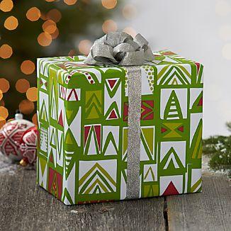 Mod Trees Gift Wrap