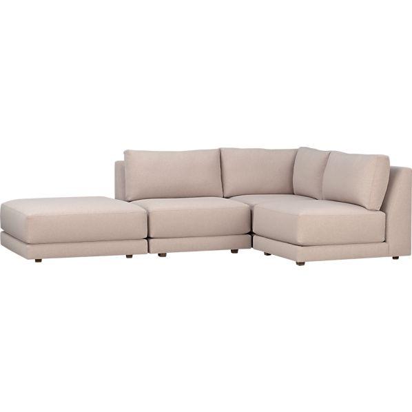 Moda 4-Piece Sectional Sofa