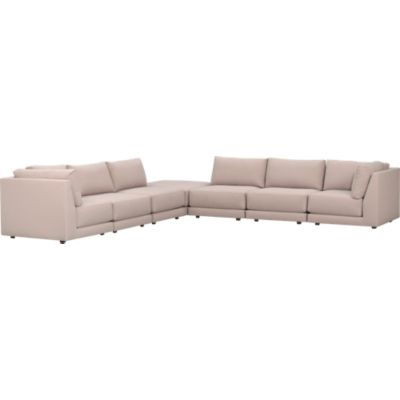 Moda 7-Piece Sectional Sofa