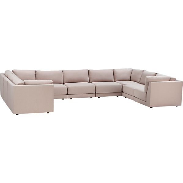 Moda 9-Piece Sectional Sofa