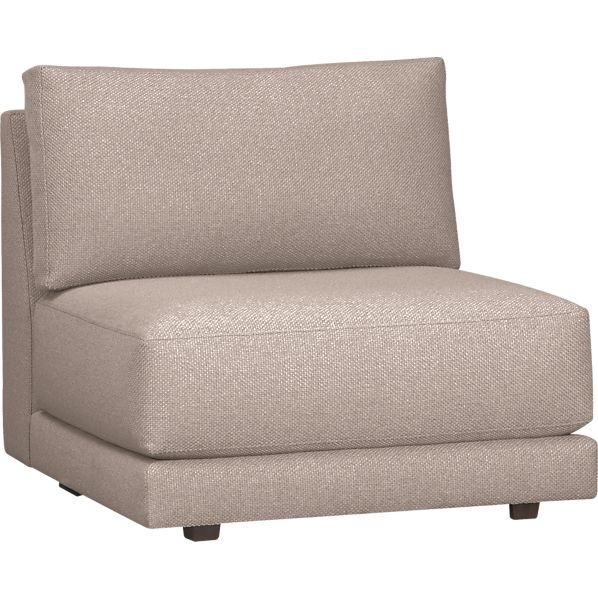 Moda Sectional Armless Chair