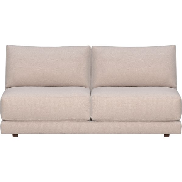 Moda Sectional Armless Loveseat