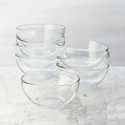 Set of 8 Moderno Bowls