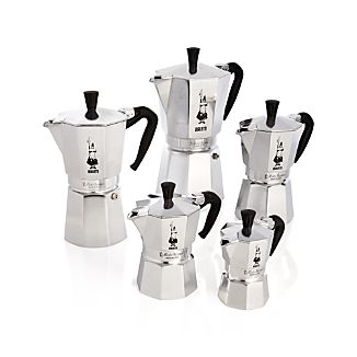 Bialetti ® Moka Aluminum Espresso Makers