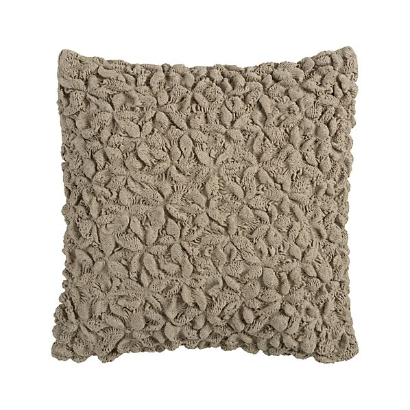 "Mollusk Natural 18"" Pillow"