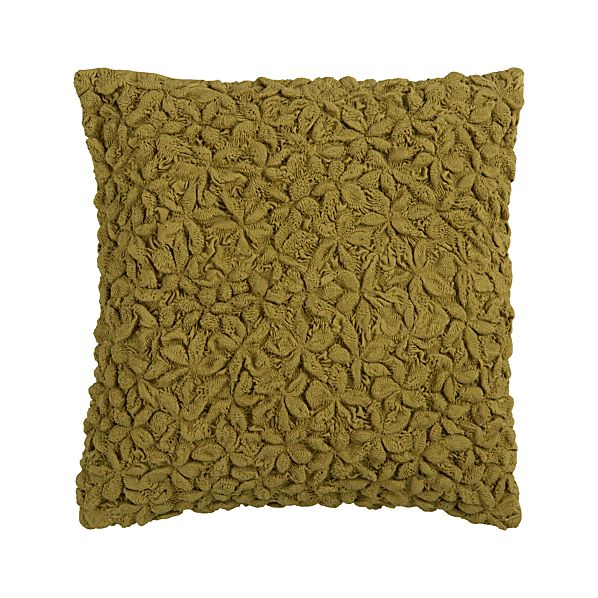 "Mollusk Olive 18"" Pillow"