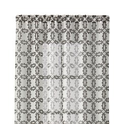 "Molly Grey 48""x96"" Curtain Panel"