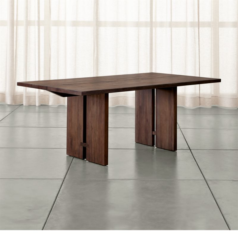 Dining Table Rollins Dining Table: Monarch Shiitake Dining Tables
