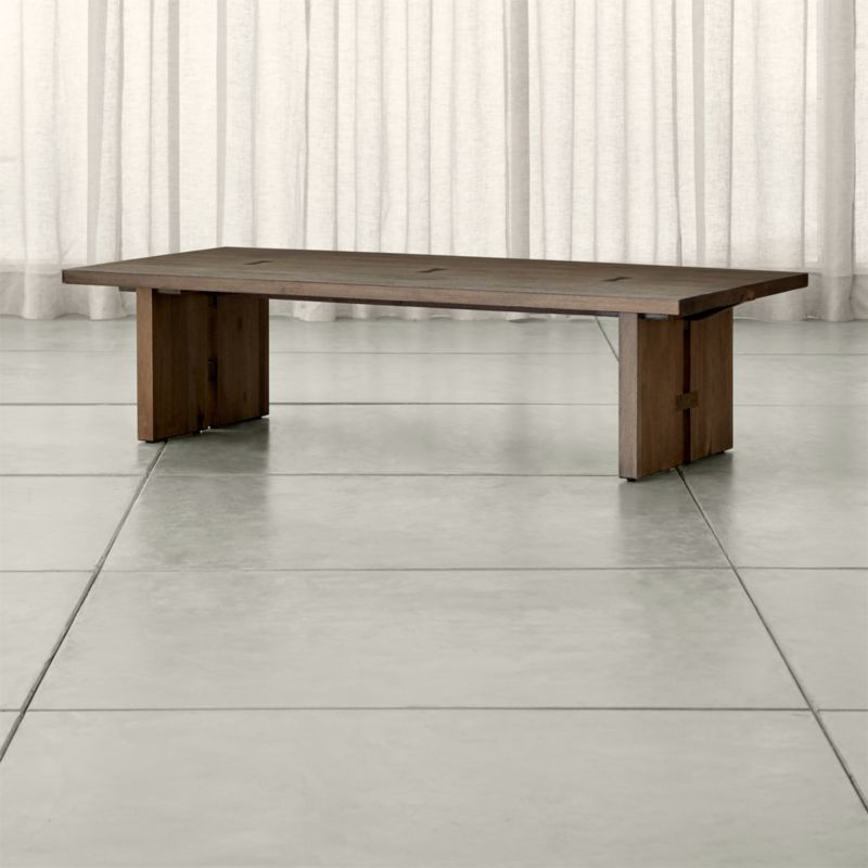 Monarch Solid Walnut Coffee Table