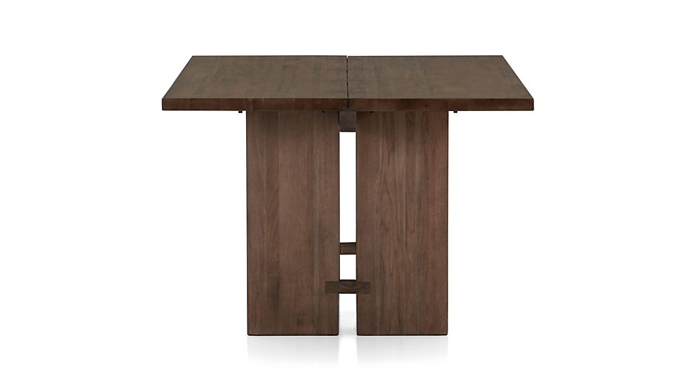 monarch shiitake 108 dining table crate and barrel