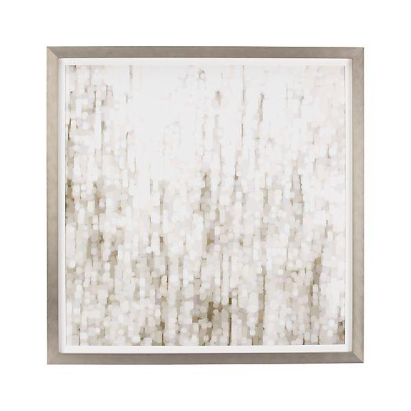 Mondrian Trees Print