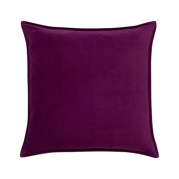 "Monroe Plum 18"" Pillow"