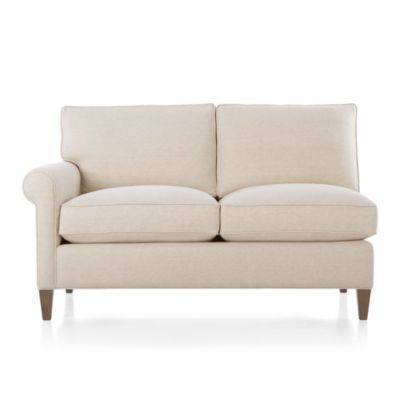 Montclair Left Arm Sectional Loveseat