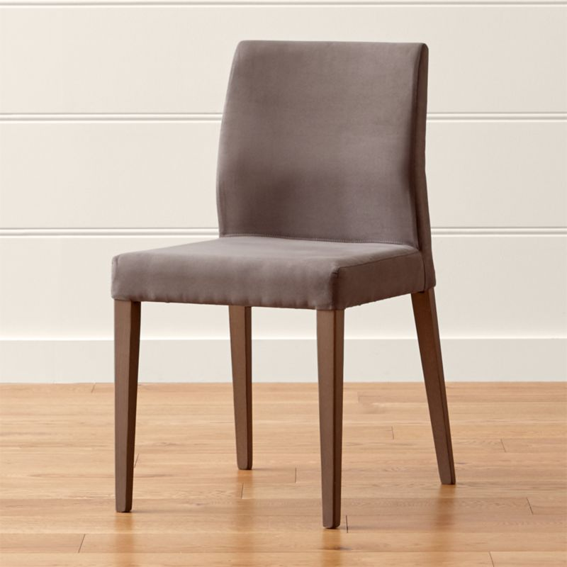 Monterey Smoke Dining Chair Crate And Barrel
