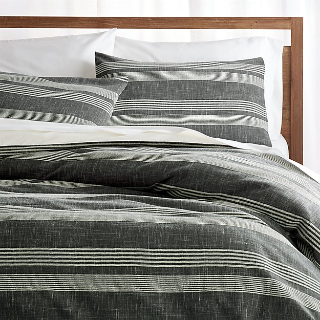 Monterey Duvet Covers And Pillow Shams Crate And Barrel