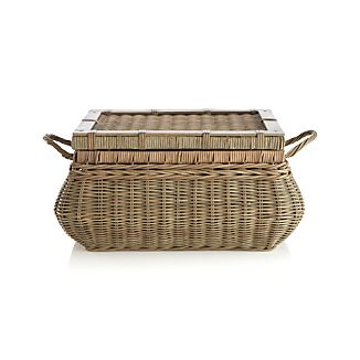 Montpellier Lidded Basket