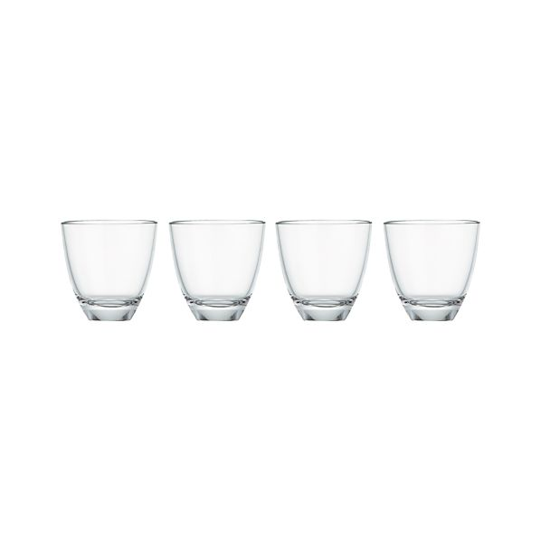 Set of 4 Moon Double Old-Fashioned Glasses