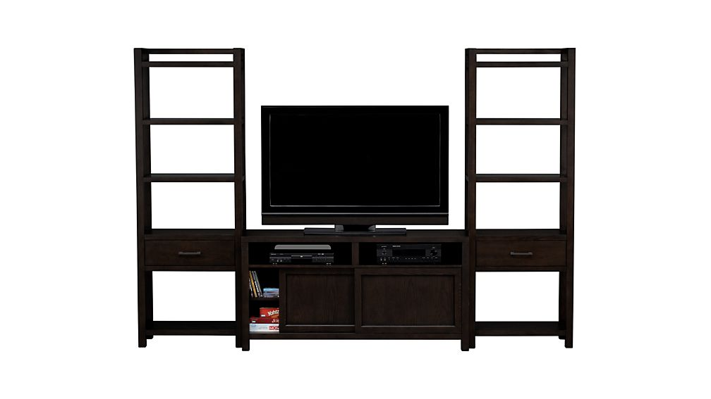 """Moore 60"""" Media Console with Two Towers"""
