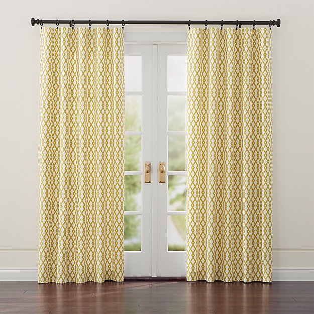 Moritz White and Gold Curtains