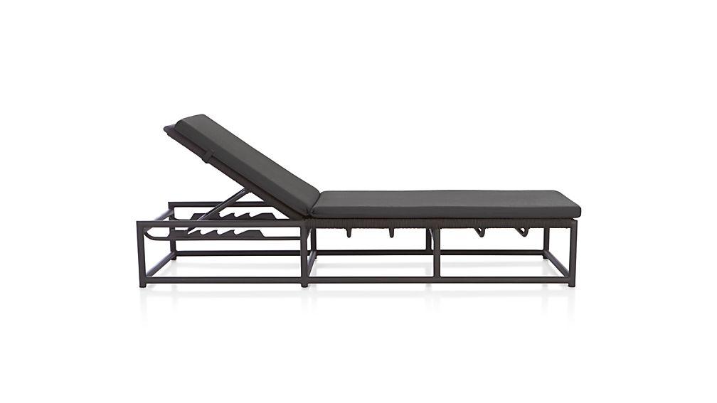 Morocco Chaise Lounge with Sunbrella ® Cushion