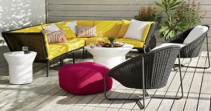 Morocco Sunbrella ® Armless/Lounge Chair Cushion