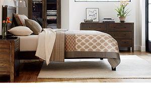 Morris Chocolate Brown Bed