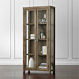Morris Ash Grey Reclaimed Wood Bookcase