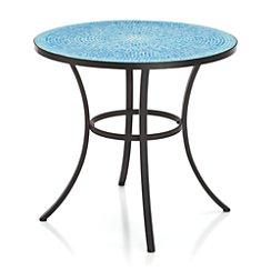 Mosaic Blue Bistro Table