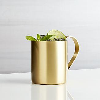 Moscow Mule Gold Mug