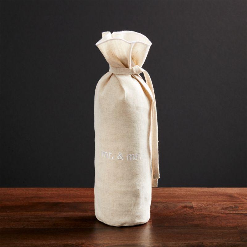 Mr. and Mr. Wine Bag