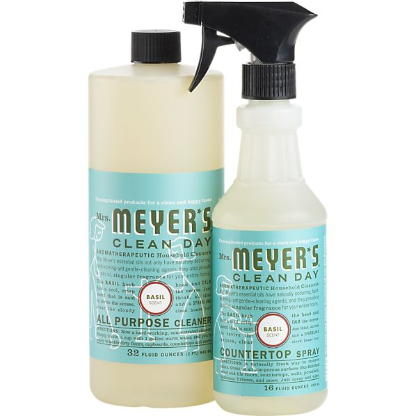 2-Piece Mrs. Meyer's Clean Day ® Basil All Purpose Cleaner and Countertop Spray Set