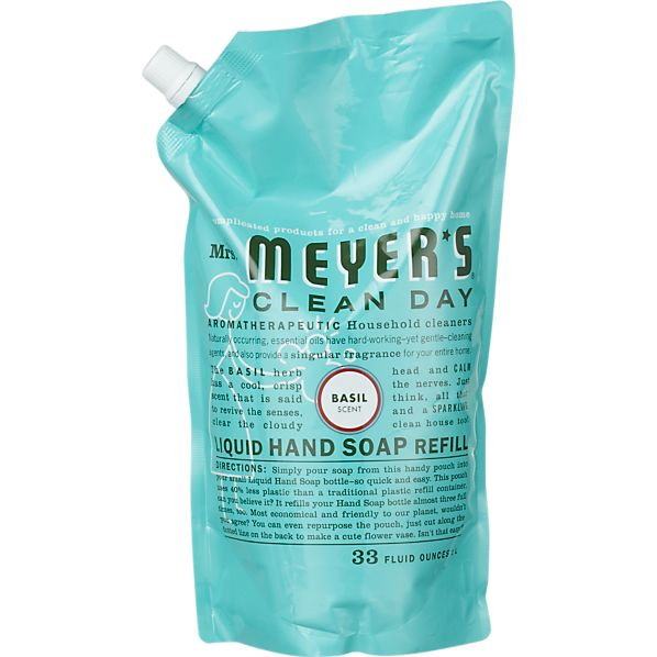 Mrs. Meyer's Clean Day ® Basil Hand Soap Refill