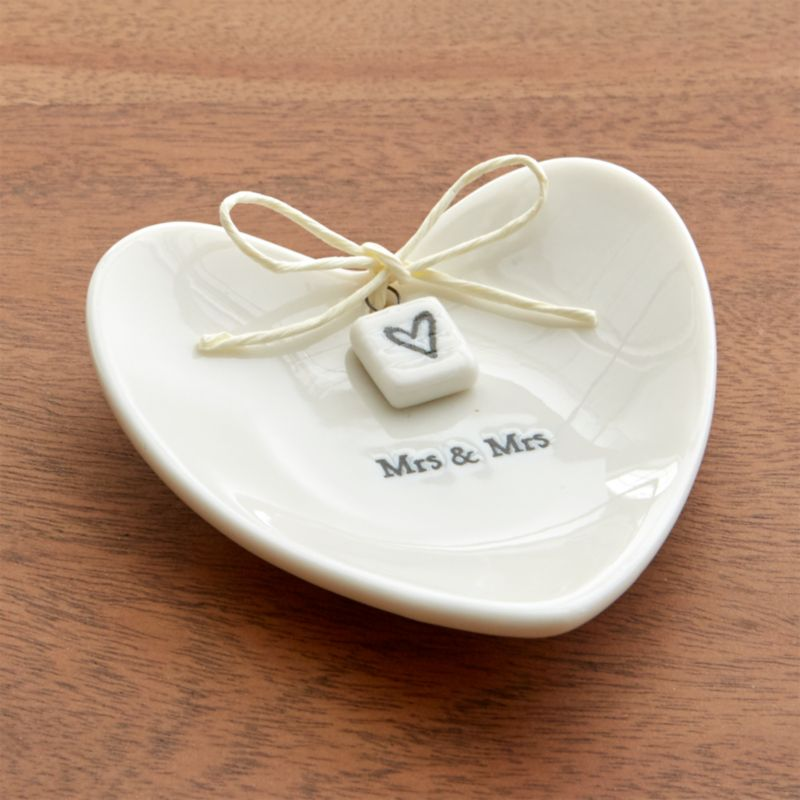 Mrs. and Mrs. Ring Dish