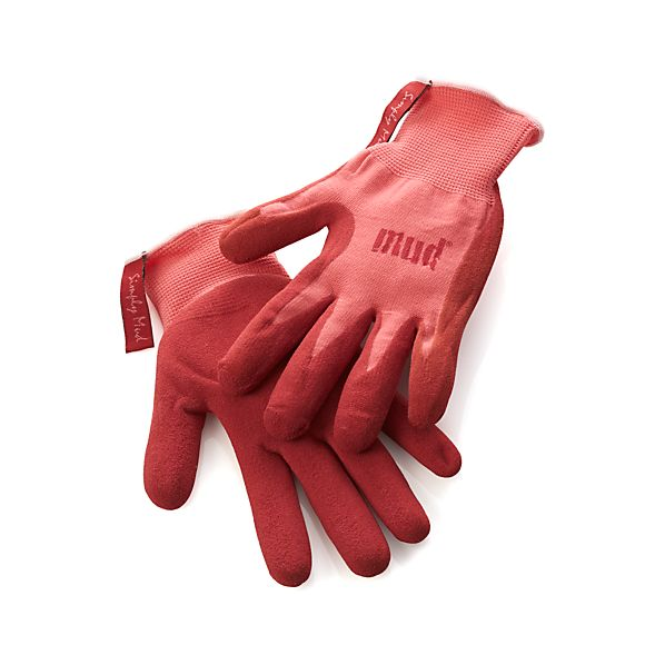 Simply Mud Medium Pomegrante Gloves