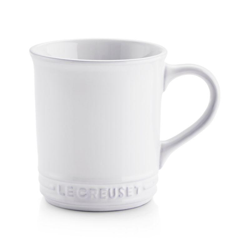 Le Creuset White Mug