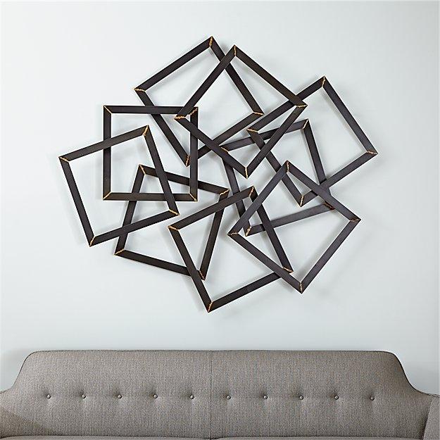 Multi Squares Wall Art