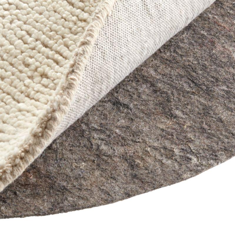 Multisurface 6' Thin Round Rug Pad
