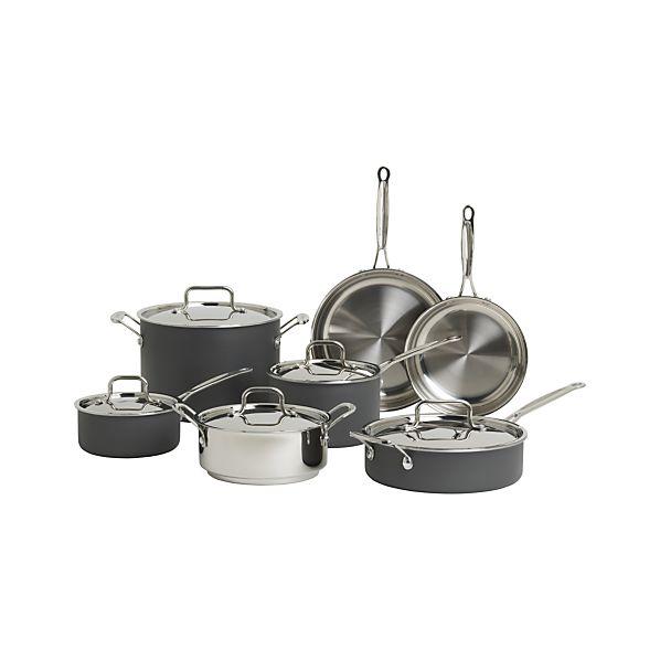 Cuisinart ® MultiClad Unlimited ™ 12-Piece Cookware Set with Bonus