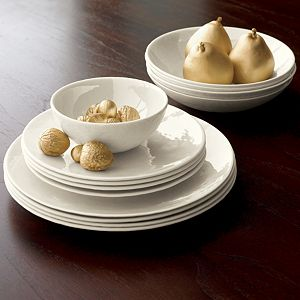 Marin White Dinnerware