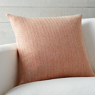 "Mylo Orange 20"" Pillow"