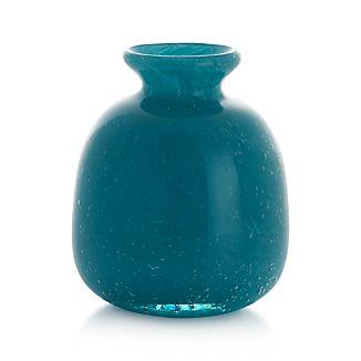 Myra Vase Aqua Medium
