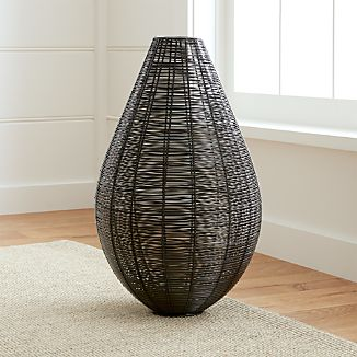 Myron Metal Floor Vase