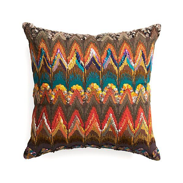 "Naldo 16"" Pillow with Feather Insert"