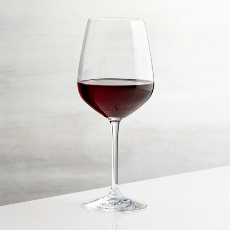 Nattie Red Wine Glass Crate And Barrel