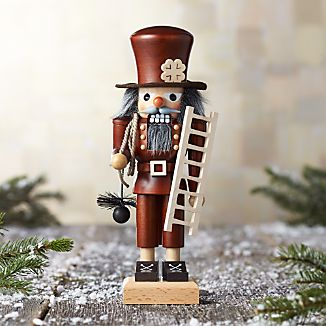 Natural Chimney Sweep Nutcracker