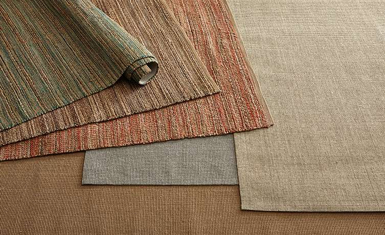 Multiple Natural Fiber Rugs