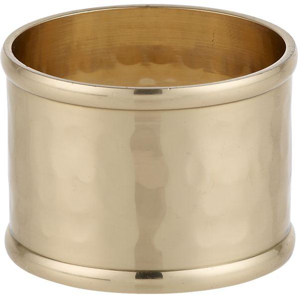 Navato Gold Napkin Ring